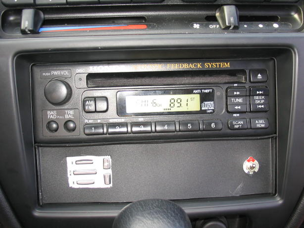 DJ In Dash Controls